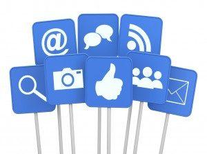 Social Media Symbole