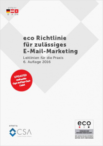 Neue eco-Richtlinie für E-Mail-Marketing
