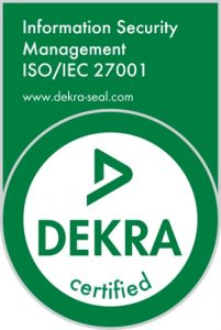 DEKRA certification for the highest IT-security standard