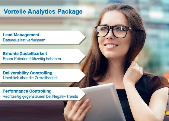 Profitieren Sie von den Vorteilen des Analytics Package