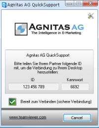 AGNITAS Teamviewer
