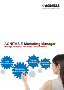 E-Mail-Marketing Flyer
