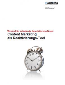Content Marketing als Reaktivierungstool