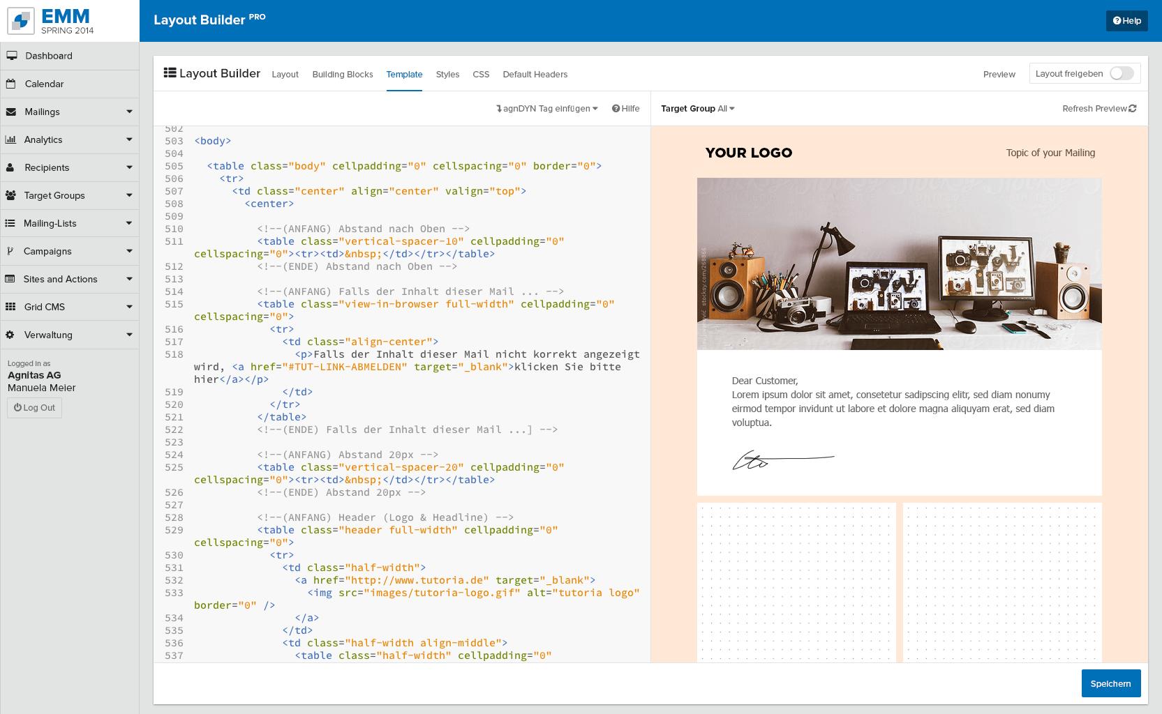 CSS Layout Builder