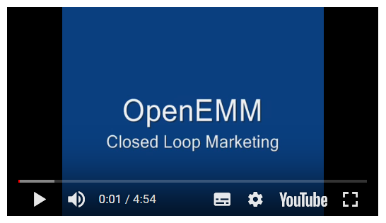 OpenEMM Tutorial: Closed Loop Marketing