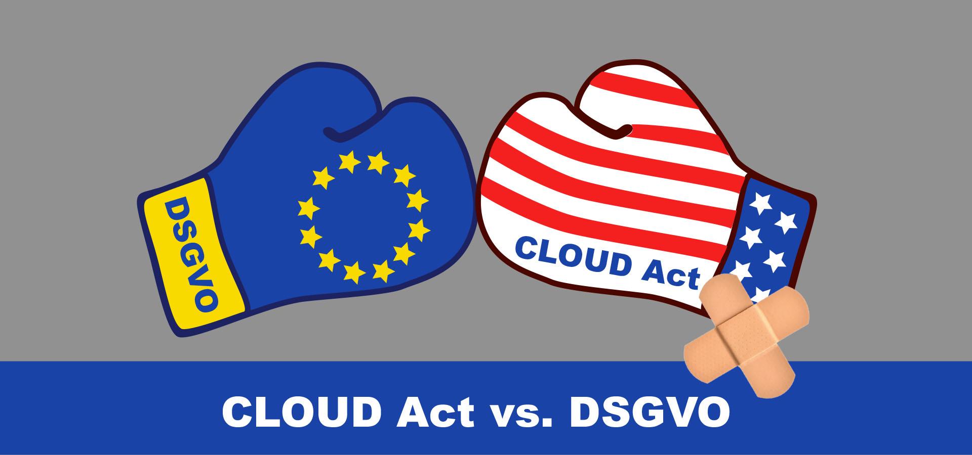 Europäischer Datenschutz vs. CLOUD Act und Privacy Shield