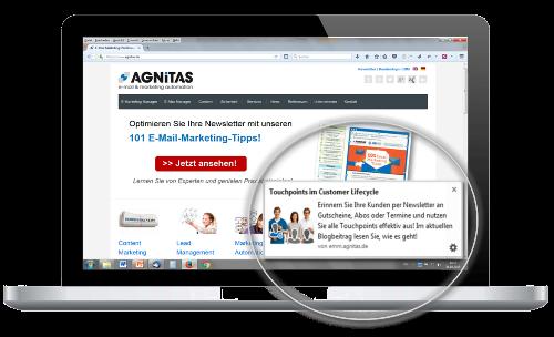 Web Push Nachrichten AGNITAS