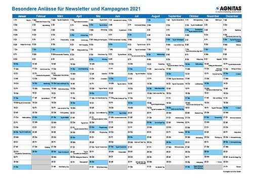 Kampagnen Kalender 2021