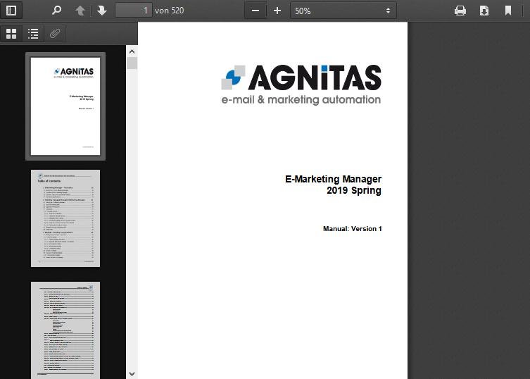 OpenEMM PDF Manual