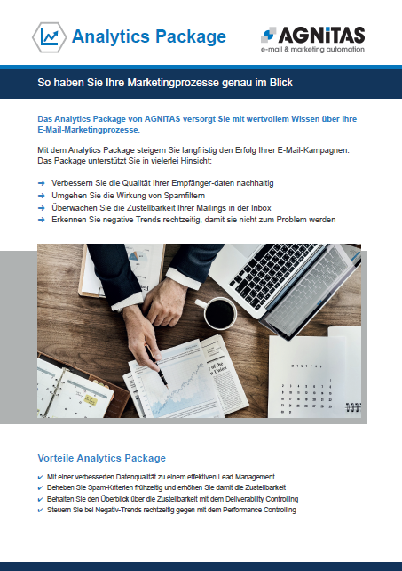 Analytics Package für mehr Datenqualität