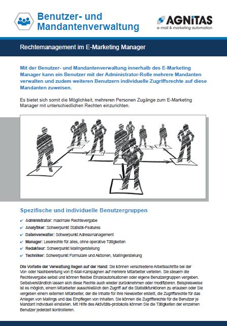 Rechtemanagement im EMM mit der Benutzer- & Mandantenverwaltung