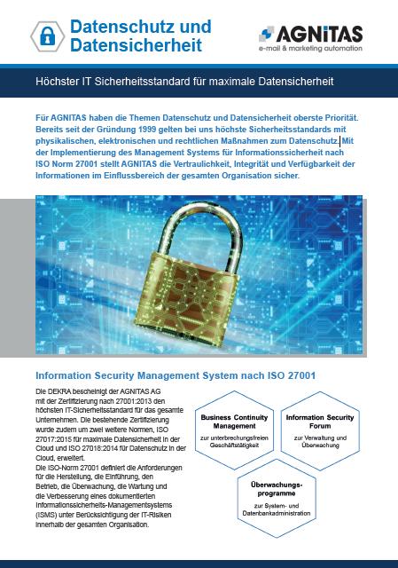 Höchster IT Sicherheitsstandard für maximale Datensicherheit