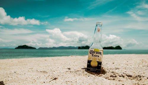 Corona-Krise Strand