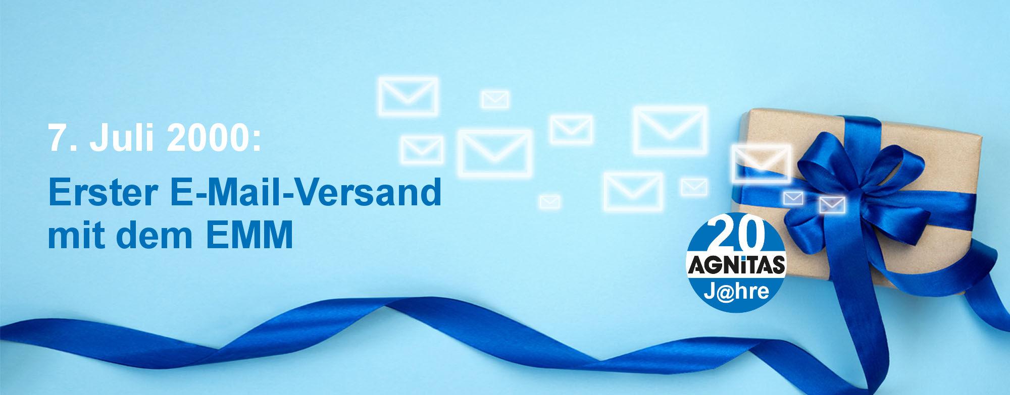 20 Jahre E-Mail-Versand mit dem EMM - ein besonderes Jubiläum