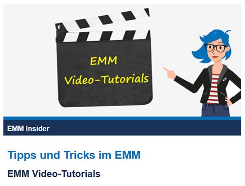 EMM Video-Tutorials