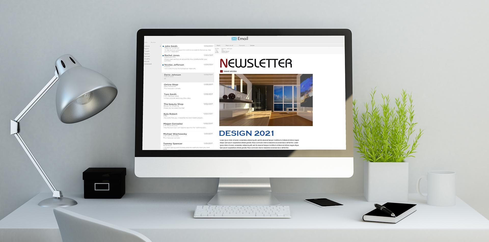 Newsletter Design 2021