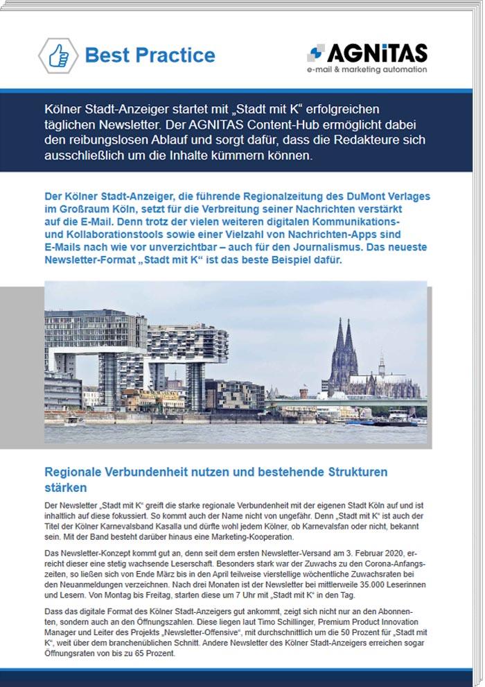 Best Practice Kölner Stadtanzeiger