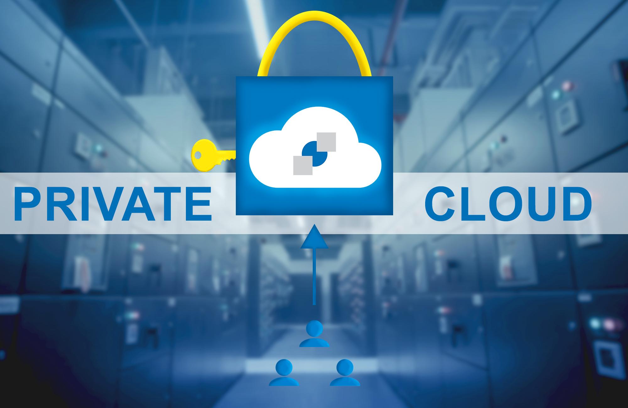 Private Cloud - gehosted und administiert durch AGNITAS exklusiv für Sie